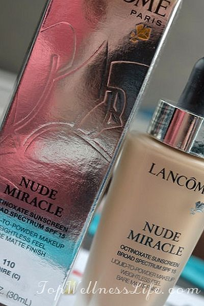 Lancome Nude Miracle Foundation in 260 Bisque N