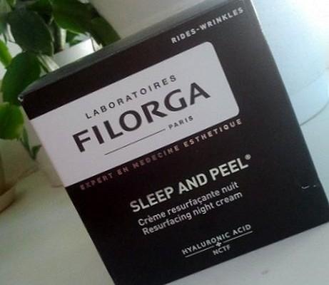 Laboratories Filorga Sleep and Peel Resurfacing Night Cream. Night smoothing cream. My good old friend