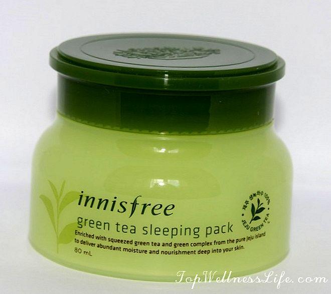 Innisfree Green Tea Sleeping Pack 2