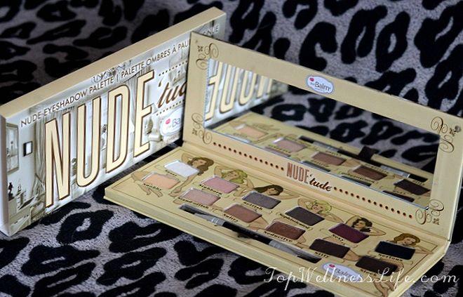 The Balm Nude 'tude Nude Eyeshadow Palette19
