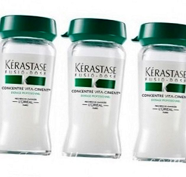 The molecular cocktails Fusio-dose by Kerastase..files 2