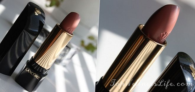 Luxury gloss from Lancome L'Absolu Rouge №250 4