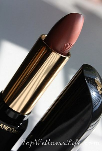 Luxury gloss from Lancome L'Absolu Rouge №250 6