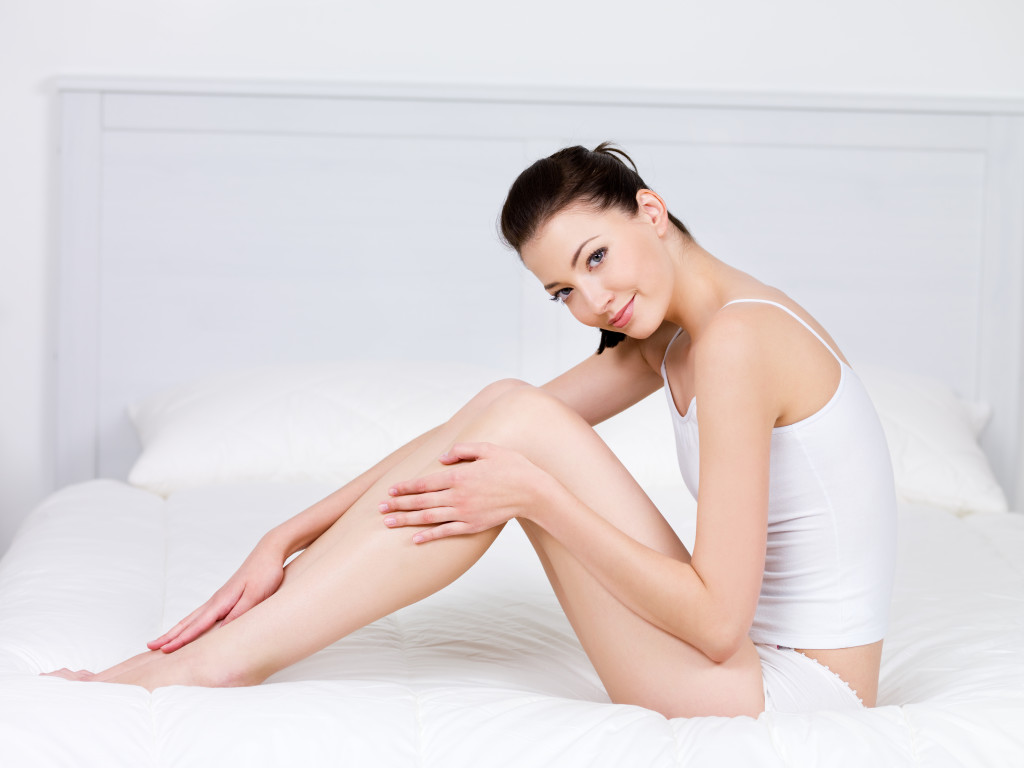 of smooth and silky skin without a hair