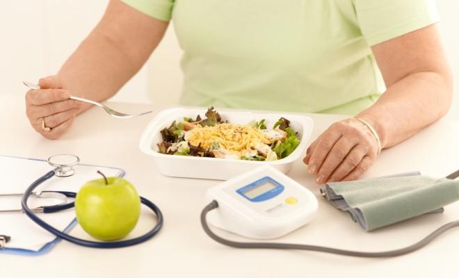 A diet against high blood pressure