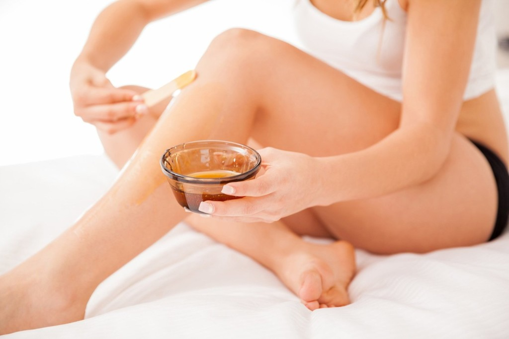 Brazilian hair removal at home