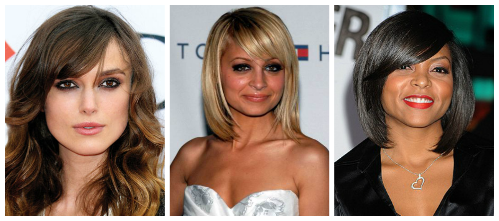 What hairstyle suits the round face