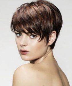 boyish hairstyle