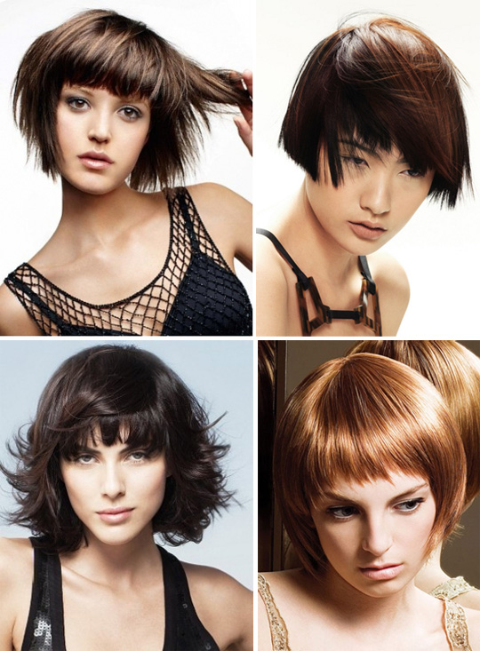 types of bob haircut