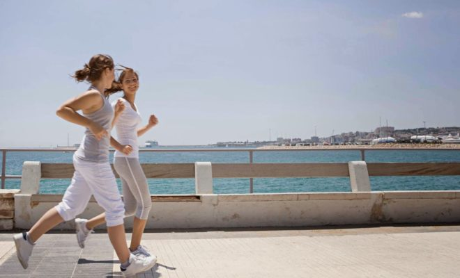 How to properly jog to lose weight