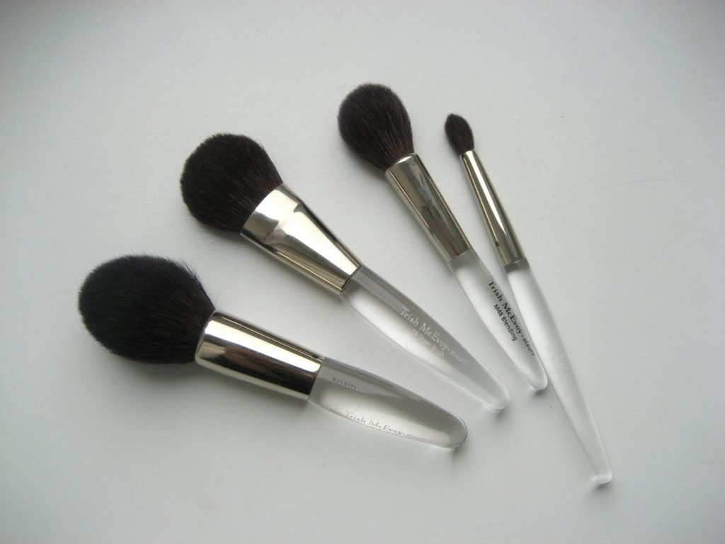 Brushes Clinique and Yves Rocher